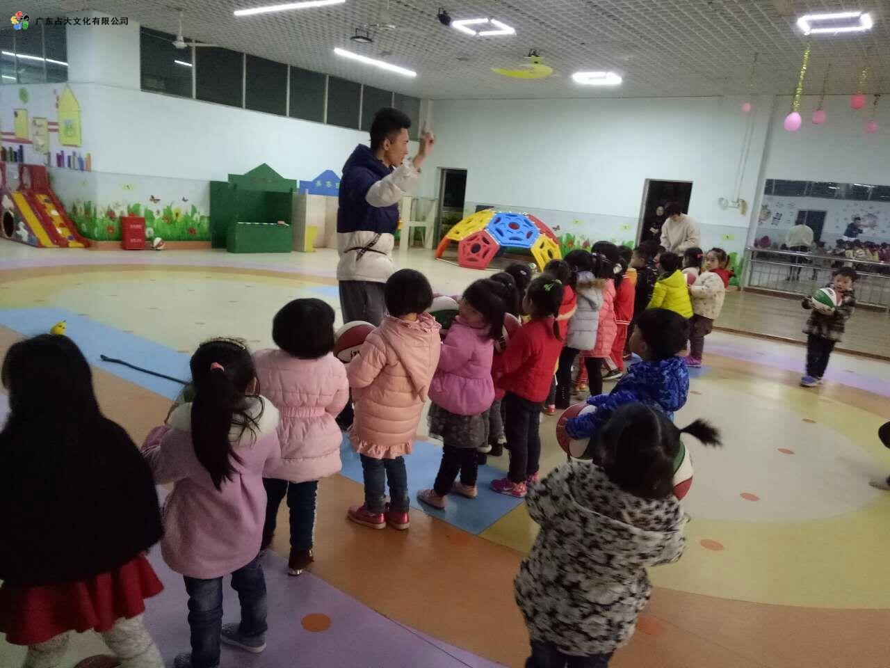 宜春占大幼儿篮球培训图片2